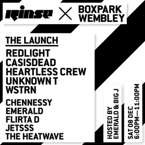 Just incase you missed our London show last week... Saturday 8th at the launch of Boxpark Wembley with Rinse FM and few others...