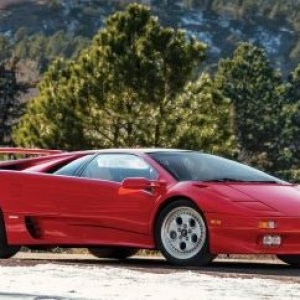 This 1991 Lamborghini Diablo owned by racing legend Mario Andretti is up for auction