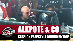 Alkpote - Session freestyle monumentale (Caballero & JeanJass, Roméo Elvis, Luv Resval, Savage Toddy