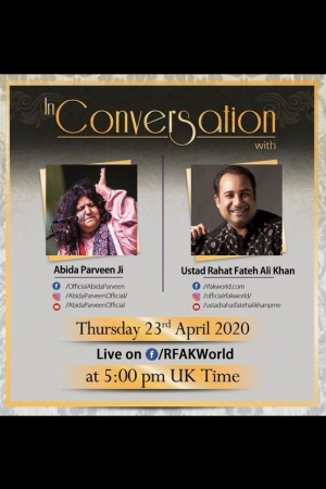 Can't wait to see this later today!! @RFAKWorld & Abida Parveen -    Two Legends