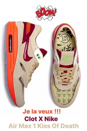 Clot X Nike ... Air Max 1 ... Kiss of Death