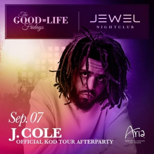 VEGAS!! I'm at #JEWELNightclub on 9/7/18 for the Official KOD Tour After Party!!! Tickets here - http://jwl.lv/jcolevegas