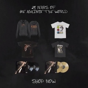 25 years of Me Against The World.   Pre-order the collection: https://t.co/FBVy2ivkhG https://t.co/HNUw0JDJh7