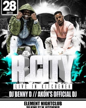 Kitchener, Canada we will be @ Element Nightclub on December 28th with our brudda from a anudda mudda @bennydemus ,party with us!