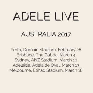 Tickets for Adele's 2017 Australian Tour go on sale today. First up, Melbourne, which is on sale now. For tickets please visit adele.com/live   Melbourne - tickets available from 10am local time Brisbane - tickets available from 10am local time Sydney - t