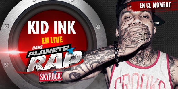 PLANETE RAP KID INK