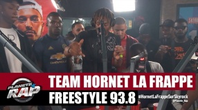 Session live - Freestyle 93.8 (Team Hornet La Frappe) #PlanèteRap
