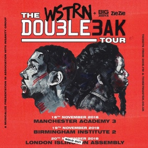 Our tour kicks off this weekend! 1st stop Manchester, followed by Birmingham and then finishing in London. Last remaining tickets for B'ham and Manchester are available here: smarturl.it/WSTRNTour Who's coming? #DOU3LE3AKTOUR