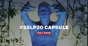 """You thought I was ill, now I'm even more so."" #SSLP20 Anniversary Capsule live now #StillDontGiveAFuck - http://shady.sr/SSLP20MerchFp"