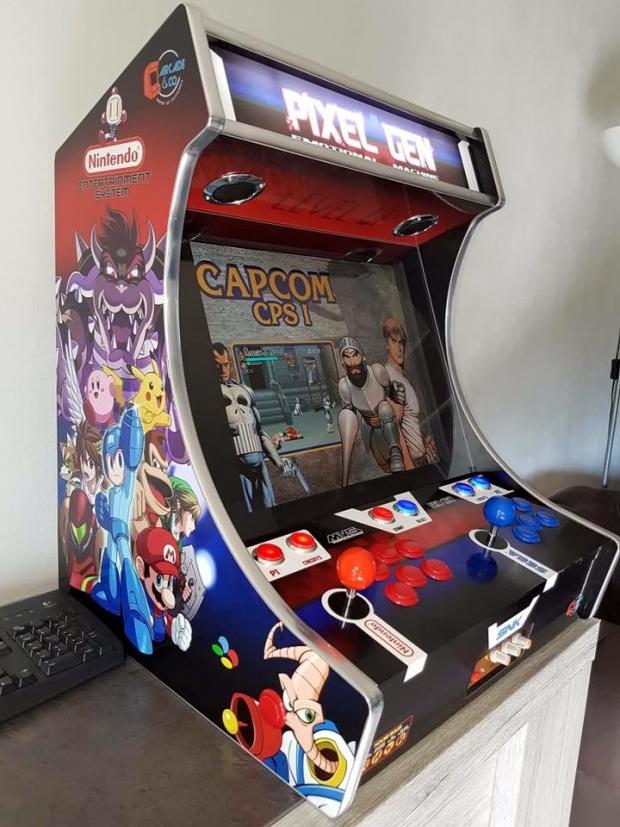 Skyrock actualit s une borne d arcade la maison - Borne d arcade maison ...