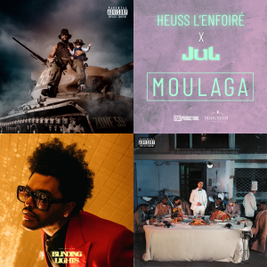 Top Singles de la semaine : Gradur, Heuss l'enfoiré, Jul, Maes...