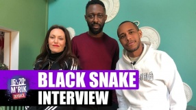 Interview Mrik x Thomas Ngijol & Karole Rocher #BlackSnake