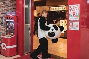 #tbt to being a panda in Osaka