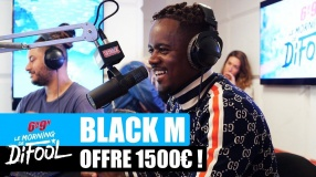Black M offre 1500€ à un auditeur ! #MorningDeDifool