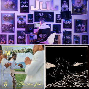 Jul, Black M et Rilès en Playlist !