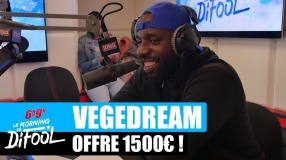 Vegedream offre 1500€ à un auditeur ! #MorningDeDifool