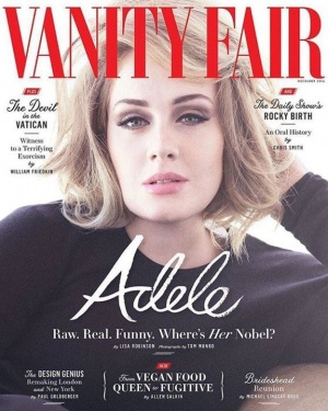 ❤️ Vanity Fair   http://smarturl.it/AdeleVF