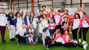 The Family Hustle Home Team  Kickball Kickback