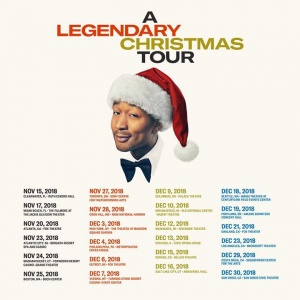 My #ALegendaryChristmas Tour is kicking off tomorrow in Clearwater, FL! Get ready for the show by listening to my album and get tickets for your city here: smarturl.it/legendaryxmastour. I can't wait to celebrate the holidays with you!