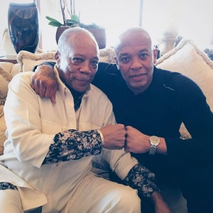 Can't wait to have Quincy Jones on #ThePharmacy this Saturday at 3PM PT/6PM ET. Sitting down with the legend himself to talk inspiration and his incomparable career and life.