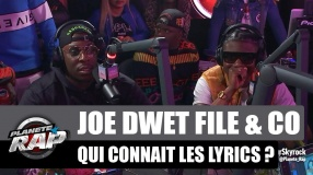 Joé Dwèt Filé, Kalash Criminel, Vegedream & Co joue à qui connaît les lyrics #PlanèteRap