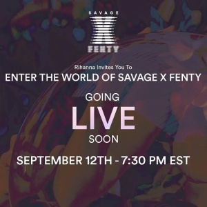 Enter the World of Savagexfenty tonight at http://ri-hanna.io/savagexlive and shop the new #SAVAGEXFW18 looks after the show at bit.ly/2x1aQfy!