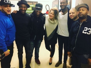 Team! Amazing people, amazing musicians. Thank you @therealmarcusmiller for this chance. @teamalexbailey @washingtongrover @russellgunn @therealalexhan @calebsean #tourlife #jazzcats #thankful