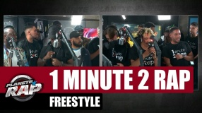 1 minute 2 rap - Freestyle avec Black M #PlanèteRap
