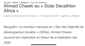 Ahmed Chawki au « Solar Decathlon Africa » @IRESEN https://t.co/kKk9YqI9mn https://t.co/nhnoN4Ilia