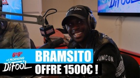 Bramsito offre 1500€ à une auditrice ! #MorningDeDifool