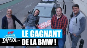 Le grand gagnant de la BMW ! #MorningDeDifool